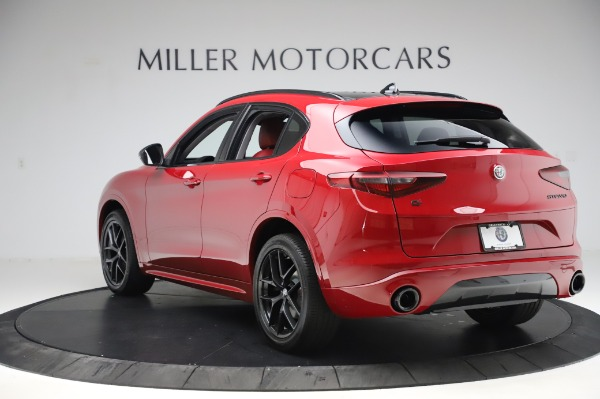 New 2020 Alfa Romeo Stelvio Sport Q4 for sale $50,195 at Alfa Romeo of Greenwich in Greenwich CT 06830 5