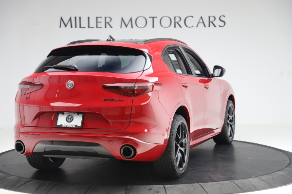 New 2020 Alfa Romeo Stelvio Sport Q4 for sale $50,195 at Alfa Romeo of Greenwich in Greenwich CT 06830 7