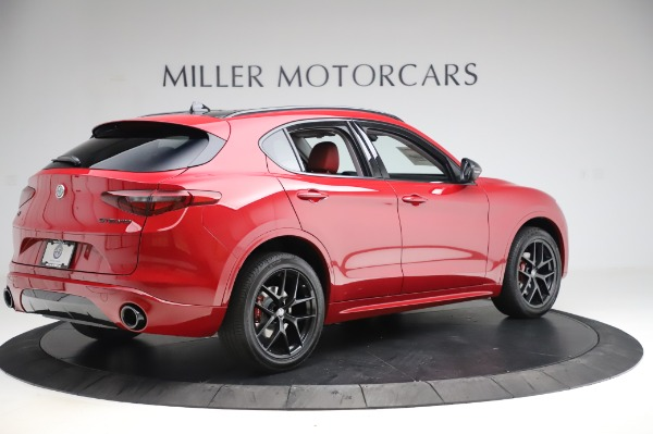 New 2020 Alfa Romeo Stelvio Sport Q4 for sale $50,195 at Alfa Romeo of Greenwich in Greenwich CT 06830 8