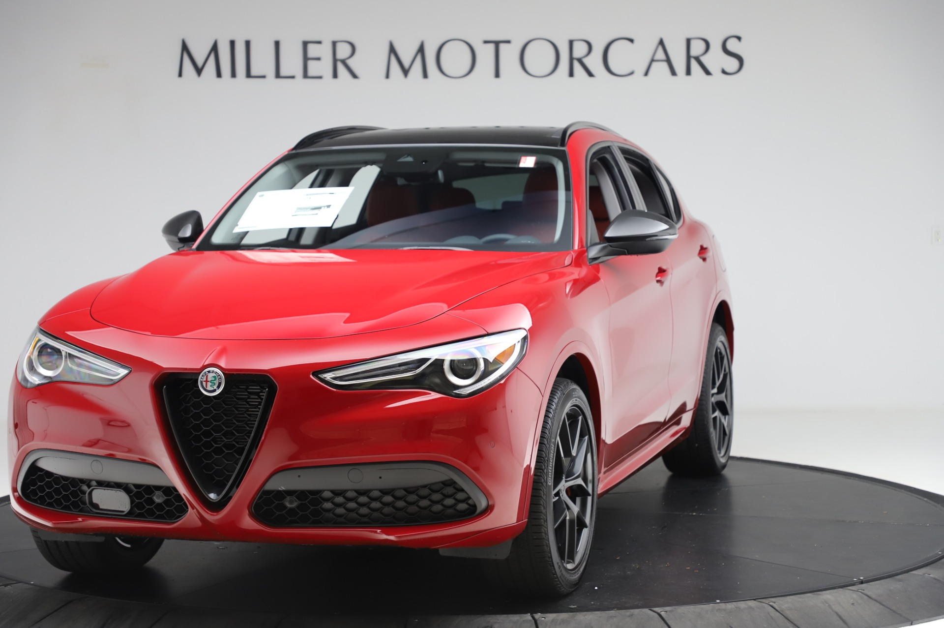 New 2020 Alfa Romeo Stelvio Sport Q4 for sale $50,195 at Alfa Romeo of Greenwich in Greenwich CT 06830 1