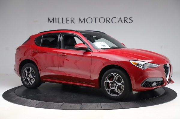 New 2020 Alfa Romeo Stelvio Sport Q4 for sale $45,645 at Alfa Romeo of Greenwich in Greenwich CT 06830 10