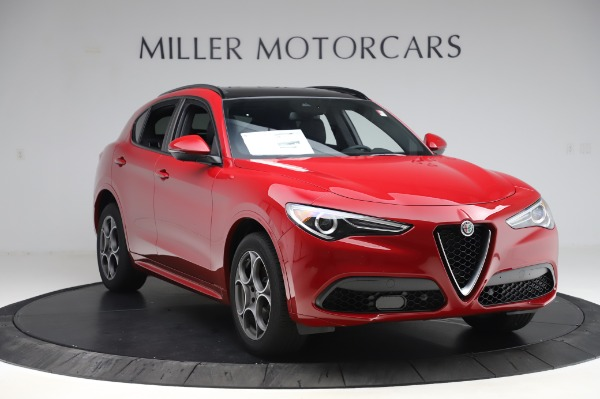 New 2020 Alfa Romeo Stelvio Sport Q4 for sale $45,645 at Alfa Romeo of Greenwich in Greenwich CT 06830 11
