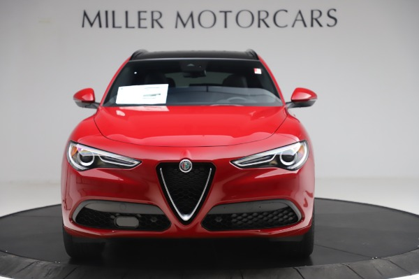 New 2020 Alfa Romeo Stelvio Sport Q4 for sale $45,645 at Alfa Romeo of Greenwich in Greenwich CT 06830 12