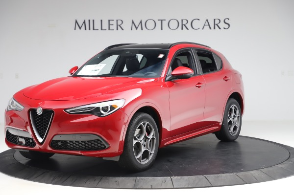 New 2020 Alfa Romeo Stelvio Sport Q4 for sale $45,645 at Alfa Romeo of Greenwich in Greenwich CT 06830 2