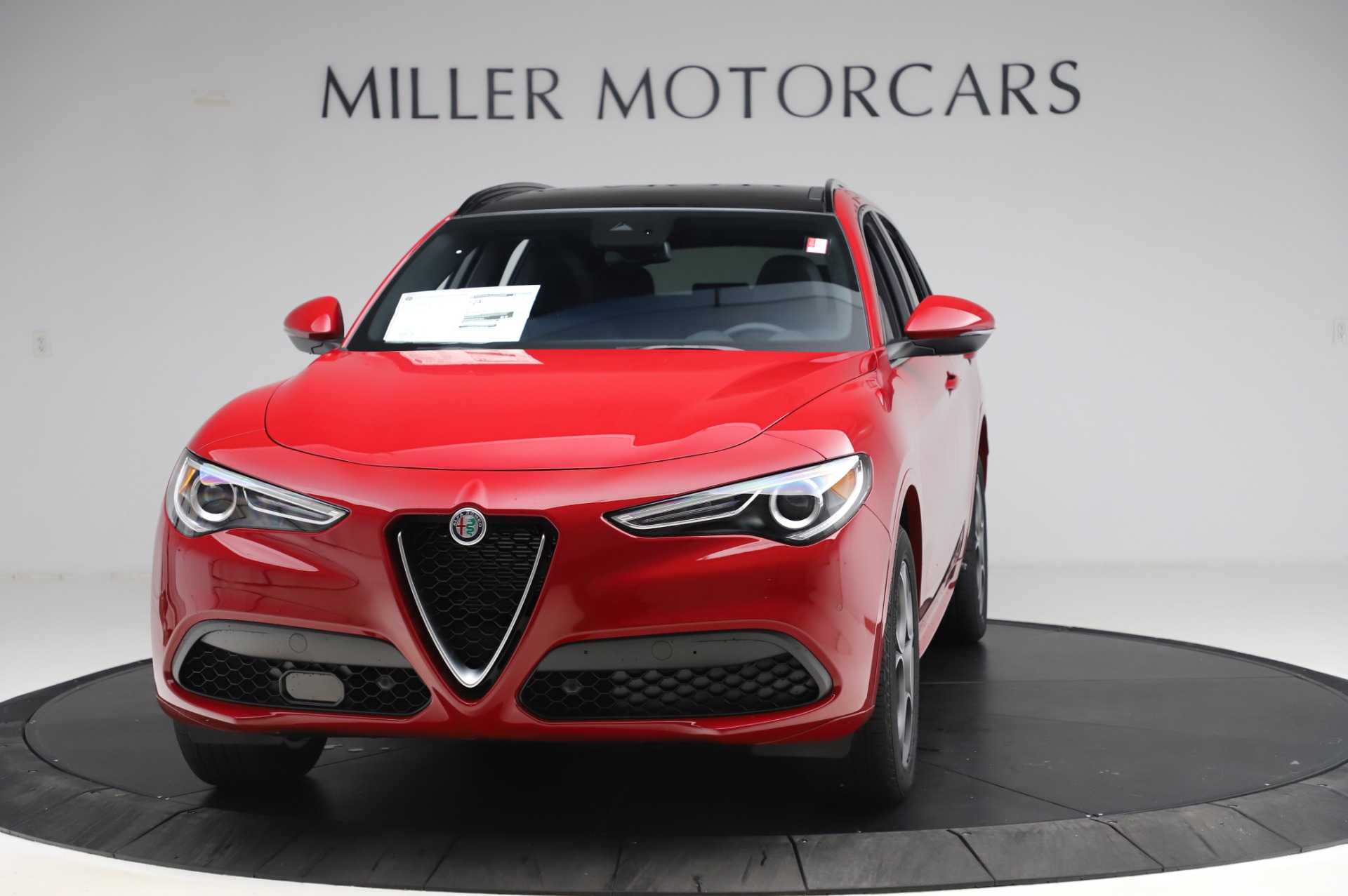 New 2020 Alfa Romeo Stelvio Sport Q4 for sale $45,645 at Alfa Romeo of Greenwich in Greenwich CT 06830 1