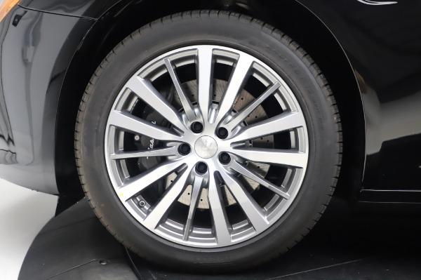 New 2020 Maserati Quattroporte S Q4 for sale $110,999 at Alfa Romeo of Greenwich in Greenwich CT 06830 14