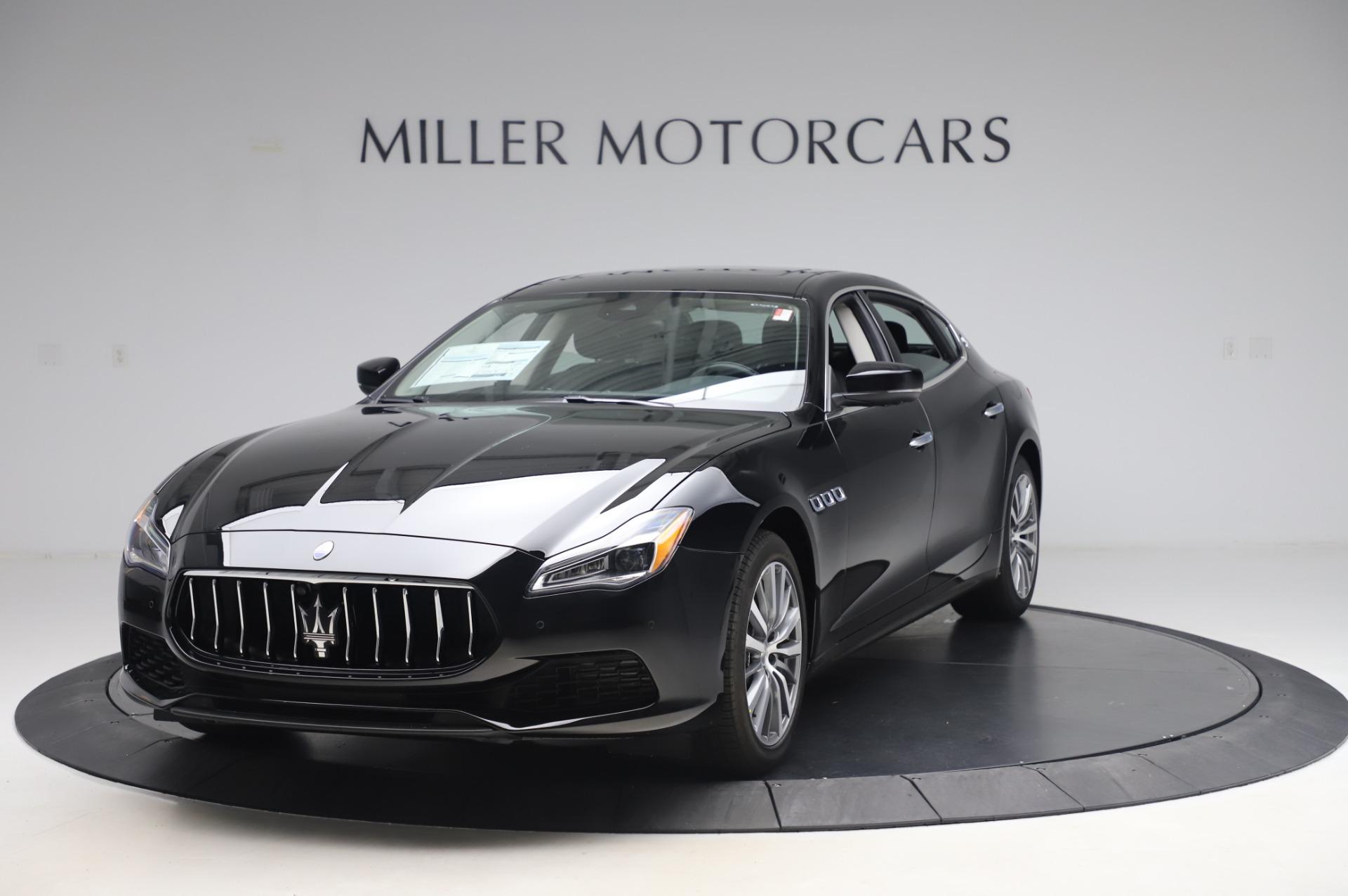 New 2020 Maserati Quattroporte S Q4 for sale $110,999 at Alfa Romeo of Greenwich in Greenwich CT 06830 1