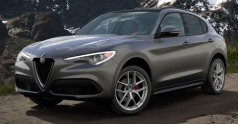 New 2020 Alfa Romeo Stelvio Ti Sport Q4 for sale $55,645 at Alfa Romeo of Greenwich in Greenwich CT 06830 1