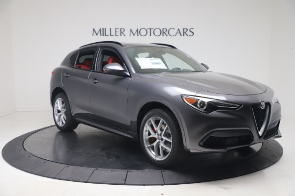 New 2020 Alfa Romeo Stelvio Ti Sport Q4 for sale $56,145 at Alfa Romeo of Greenwich in Greenwich CT 06830 11
