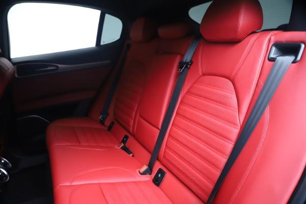 New 2020 Alfa Romeo Stelvio Ti Sport Q4 for sale Sold at Alfa Romeo of Greenwich in Greenwich CT 06830 18