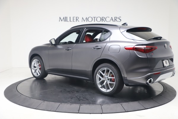 New 2020 Alfa Romeo Stelvio Ti Sport Q4 for sale $56,145 at Alfa Romeo of Greenwich in Greenwich CT 06830 4