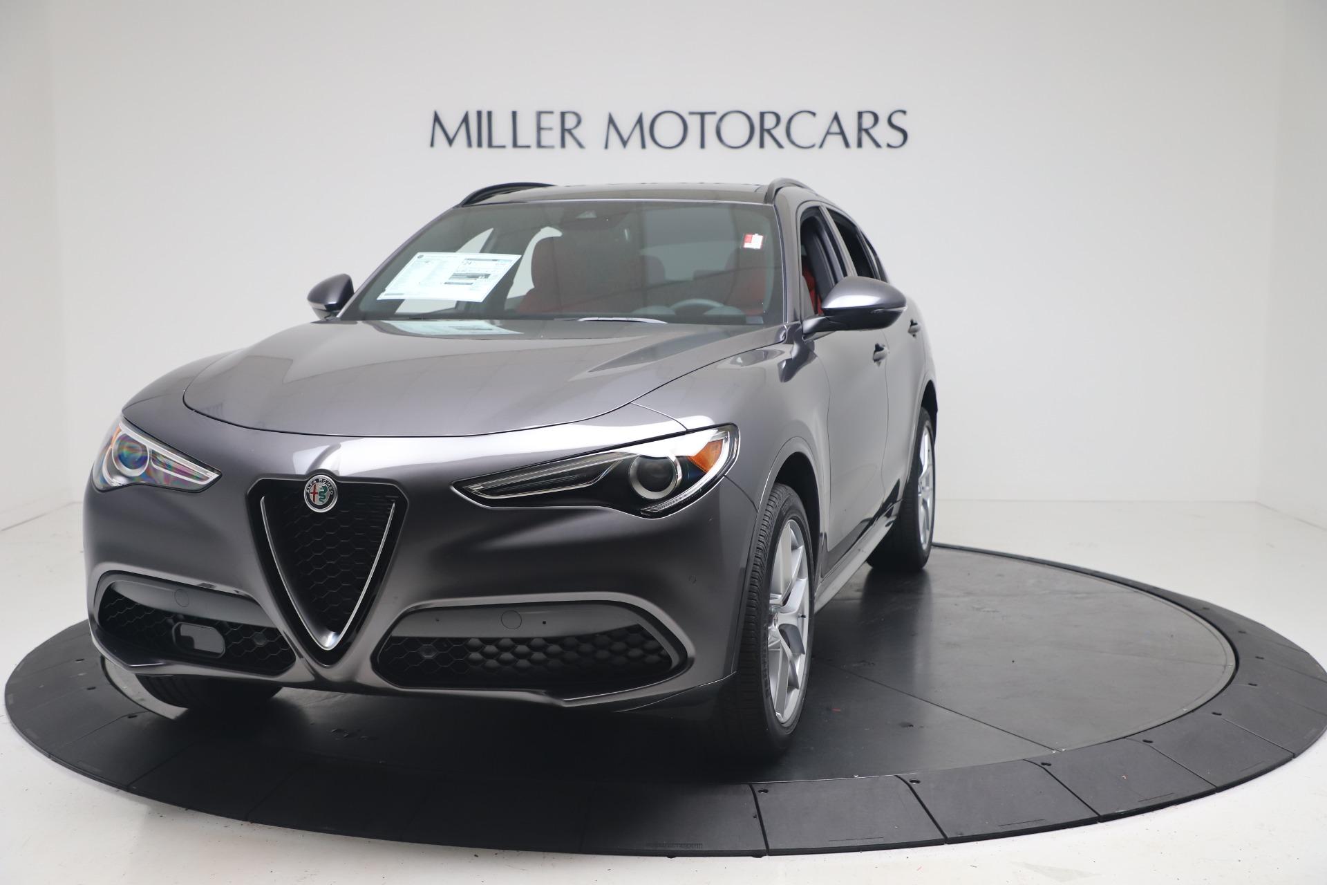 New 2020 Alfa Romeo Stelvio Ti Sport Q4 for sale Sold at Alfa Romeo of Greenwich in Greenwich CT 06830 1