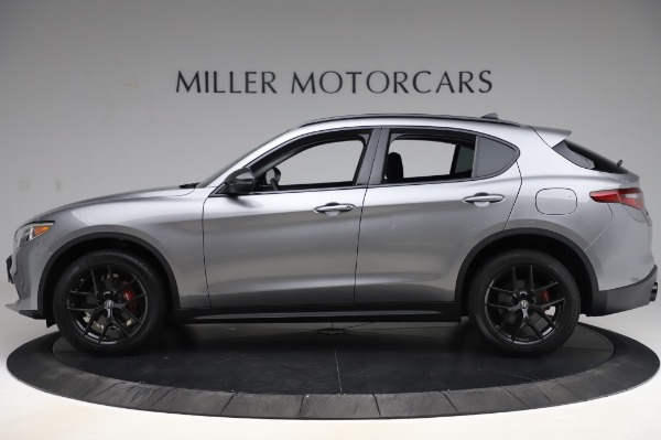 New 2020 Alfa Romeo Stelvio for sale $50,145 at Alfa Romeo of Greenwich in Greenwich CT 06830 3