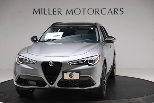 New 2020 Alfa Romeo Stelvio for sale $50,145 at Alfa Romeo of Greenwich in Greenwich CT 06830 1