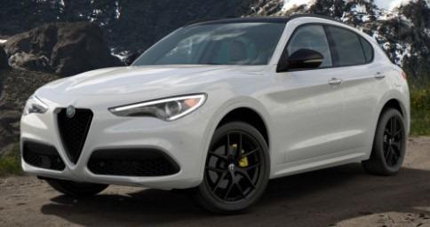 New 2020 Alfa Romeo Stelvio Ti Sport for sale $57,645 at Alfa Romeo of Greenwich in Greenwich CT 06830 1