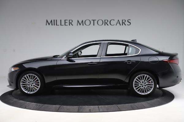New 2020 Alfa Romeo Giulia Ti Lusso Q4 for sale $51,195 at Alfa Romeo of Greenwich in Greenwich CT 06830 3