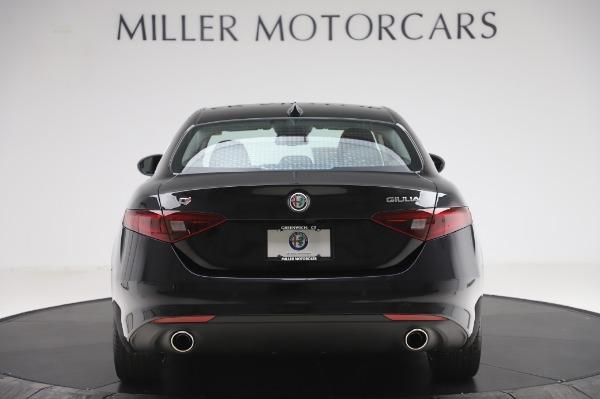 New 2020 Alfa Romeo Giulia Ti Lusso Q4 for sale $51,195 at Alfa Romeo of Greenwich in Greenwich CT 06830 6