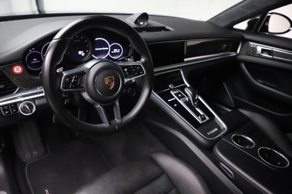 Used 2017 Porsche Panamera Turbo for sale $95,900 at Alfa Romeo of Greenwich in Greenwich CT 06830 13