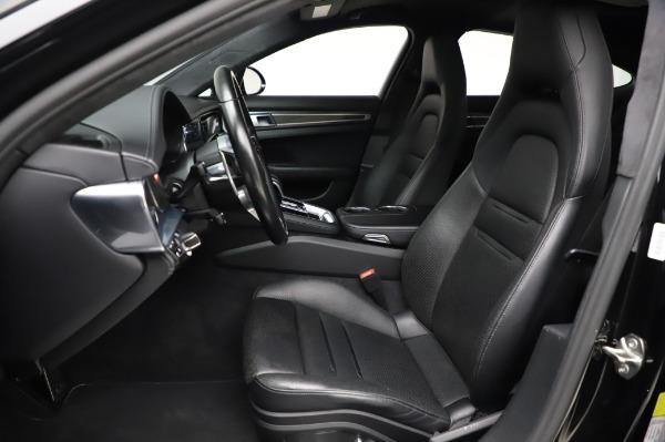 Used 2017 Porsche Panamera Turbo for sale $95,900 at Alfa Romeo of Greenwich in Greenwich CT 06830 14