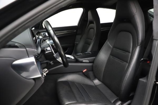 Used 2017 Porsche Panamera Turbo for sale $95,900 at Alfa Romeo of Greenwich in Greenwich CT 06830 15