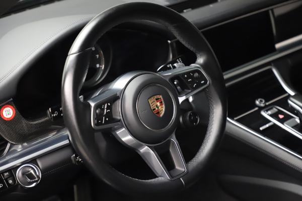 Used 2017 Porsche Panamera Turbo for sale $95,900 at Alfa Romeo of Greenwich in Greenwich CT 06830 16