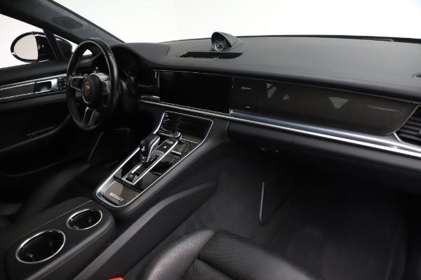 Used 2017 Porsche Panamera Turbo for sale $95,900 at Alfa Romeo of Greenwich in Greenwich CT 06830 19
