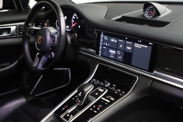Used 2017 Porsche Panamera Turbo for sale $95,900 at Alfa Romeo of Greenwich in Greenwich CT 06830 25