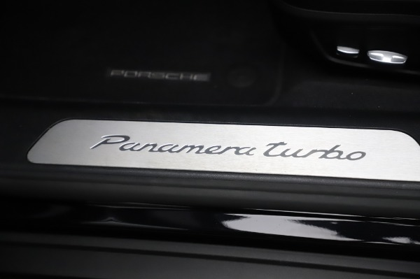 Used 2017 Porsche Panamera Turbo for sale $95,900 at Alfa Romeo of Greenwich in Greenwich CT 06830 26