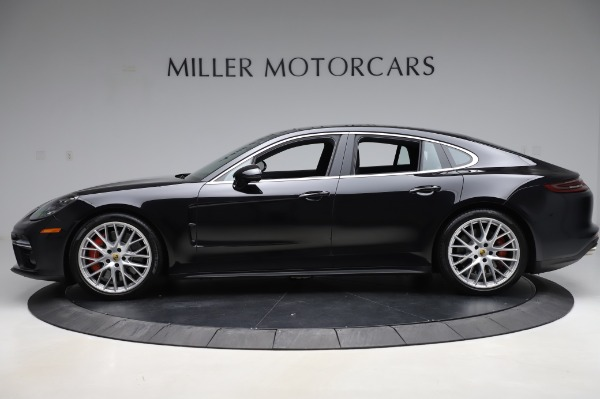 Used 2017 Porsche Panamera Turbo for sale $95,900 at Alfa Romeo of Greenwich in Greenwich CT 06830 3