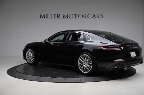 Used 2017 Porsche Panamera Turbo for sale $95,900 at Alfa Romeo of Greenwich in Greenwich CT 06830 4