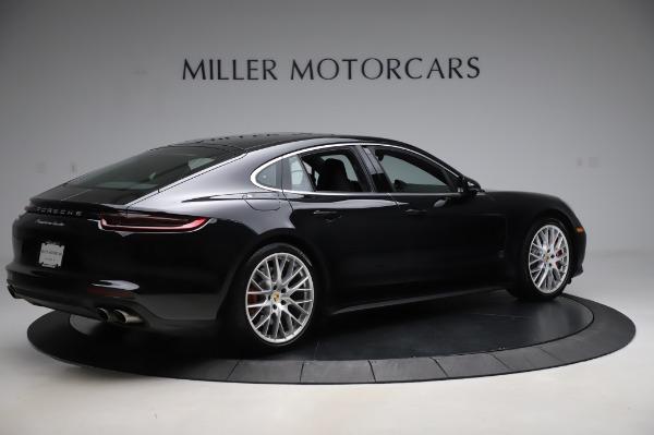 Used 2017 Porsche Panamera Turbo for sale $95,900 at Alfa Romeo of Greenwich in Greenwich CT 06830 8