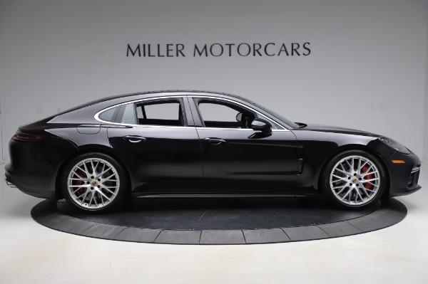 Used 2017 Porsche Panamera Turbo for sale $95,900 at Alfa Romeo of Greenwich in Greenwich CT 06830 9