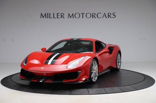 Used 2019 Ferrari 488 Pista for sale $447,900 at Alfa Romeo of Greenwich in Greenwich CT 06830 1
