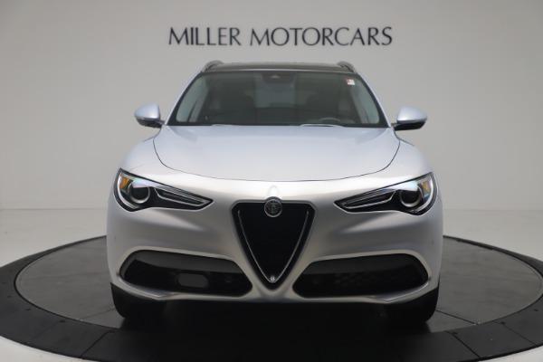 New 2020 Alfa Romeo Stelvio Q4 for sale $49,795 at Alfa Romeo of Greenwich in Greenwich CT 06830 12
