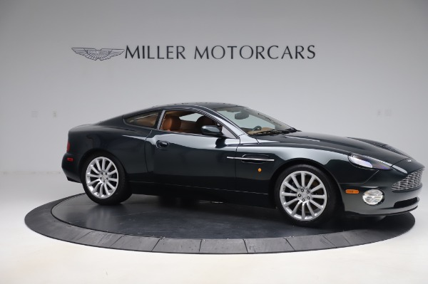 Used 2003 Aston Martin V12 Vanquish Coupe for sale $79,900 at Alfa Romeo of Greenwich in Greenwich CT 06830 10