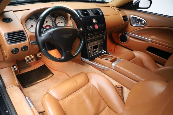 Used 2003 Aston Martin V12 Vanquish Coupe for sale $79,900 at Alfa Romeo of Greenwich in Greenwich CT 06830 13