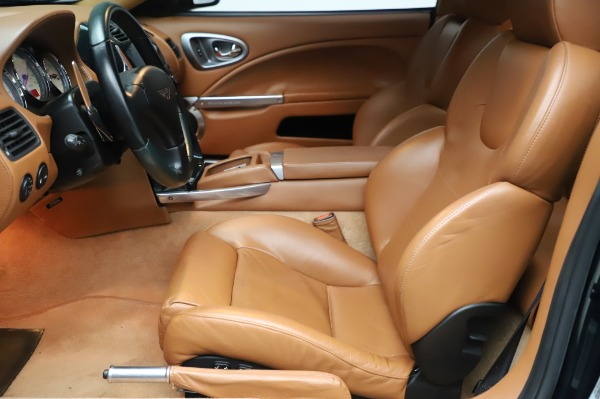 Used 2003 Aston Martin V12 Vanquish Coupe for sale $79,900 at Alfa Romeo of Greenwich in Greenwich CT 06830 14