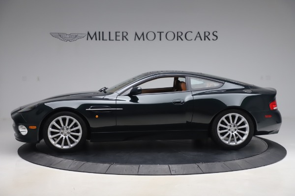 Used 2003 Aston Martin V12 Vanquish Coupe for sale $79,900 at Alfa Romeo of Greenwich in Greenwich CT 06830 2