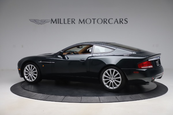 Used 2003 Aston Martin V12 Vanquish Coupe for sale $79,900 at Alfa Romeo of Greenwich in Greenwich CT 06830 3