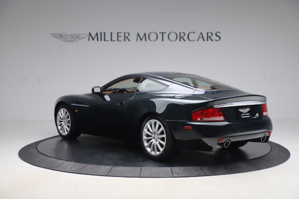 Used 2003 Aston Martin V12 Vanquish Coupe for sale $79,900 at Alfa Romeo of Greenwich in Greenwich CT 06830 4