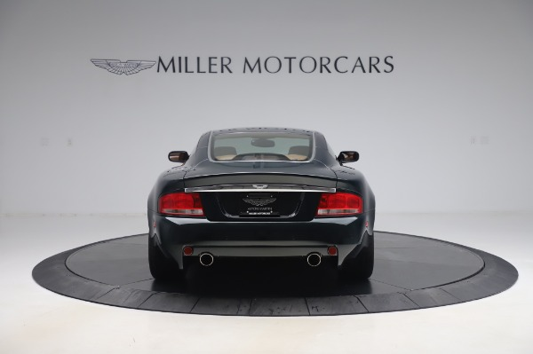 Used 2003 Aston Martin V12 Vanquish Coupe for sale $79,900 at Alfa Romeo of Greenwich in Greenwich CT 06830 5