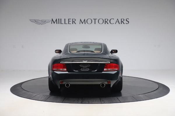 Used 2003 Aston Martin V12 Vanquish Coupe for sale $79,900 at Alfa Romeo of Greenwich in Greenwich CT 06830 6