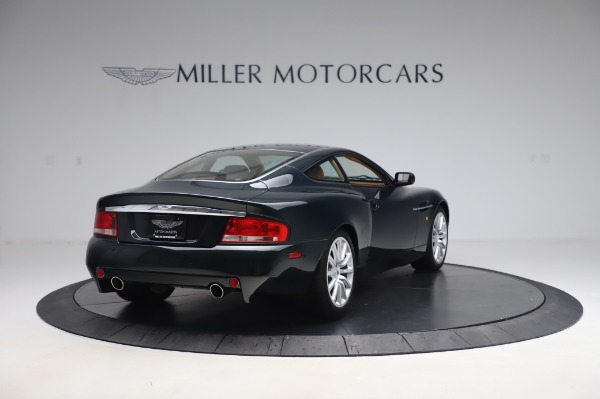 Used 2003 Aston Martin V12 Vanquish Coupe for sale $79,900 at Alfa Romeo of Greenwich in Greenwich CT 06830 7