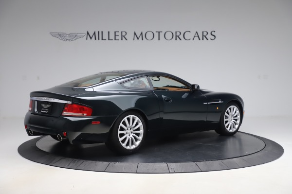 Used 2003 Aston Martin V12 Vanquish Coupe for sale $79,900 at Alfa Romeo of Greenwich in Greenwich CT 06830 8