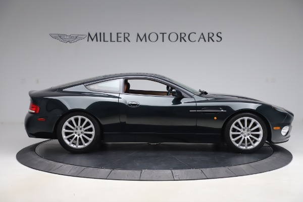 Used 2003 Aston Martin V12 Vanquish Coupe for sale $79,900 at Alfa Romeo of Greenwich in Greenwich CT 06830 9