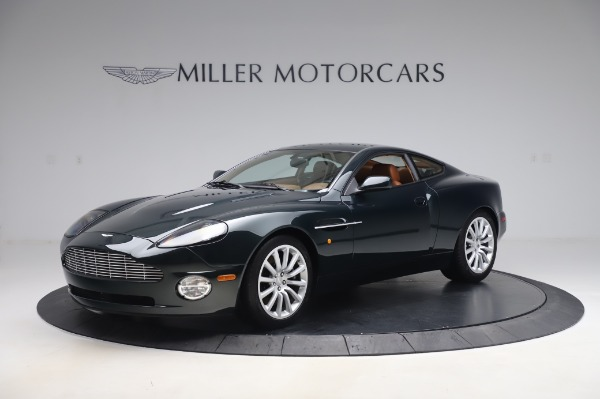 Used 2003 Aston Martin V12 Vanquish Coupe for sale $79,900 at Alfa Romeo of Greenwich in Greenwich CT 06830 1