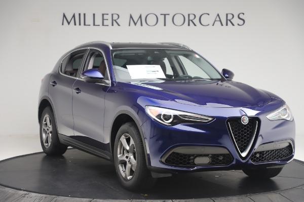 New 2020 Alfa Romeo Stelvio Q4 for sale $49,795 at Alfa Romeo of Greenwich in Greenwich CT 06830 11