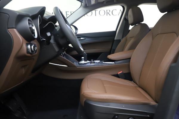 New 2020 Alfa Romeo Stelvio Q4 for sale $49,795 at Alfa Romeo of Greenwich in Greenwich CT 06830 16