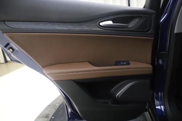 New 2020 Alfa Romeo Stelvio Q4 for sale $49,795 at Alfa Romeo of Greenwich in Greenwich CT 06830 22