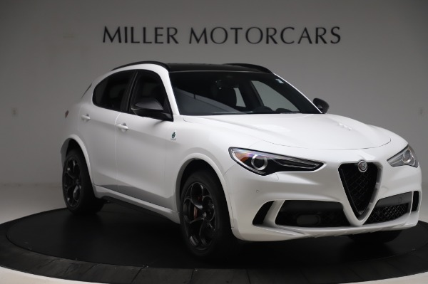 New 2020 Alfa Romeo Stelvio Quadrifoglio for sale $90,945 at Alfa Romeo of Greenwich in Greenwich CT 06830 11